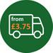 Standard delivery form £3.75